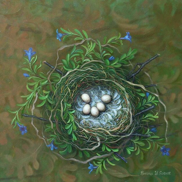 Nest and Violets